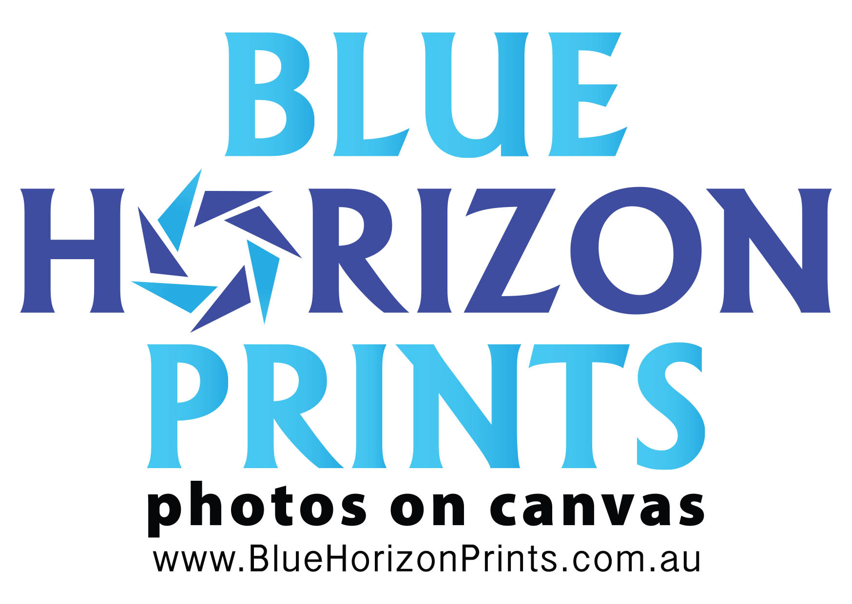 Blue Horizon Prints