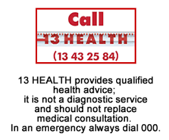 13 Health—Health Advice Over The Phone