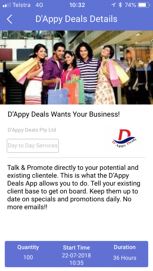 D'appy Deals Pty Ltd