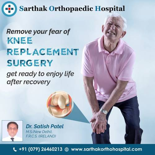 Total Knee Replacement In Ahmedabad, Gujarat - Sarthak Ortho Hospital